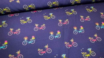 Fahrrad Bicycle Baumwolle dunkelblau
