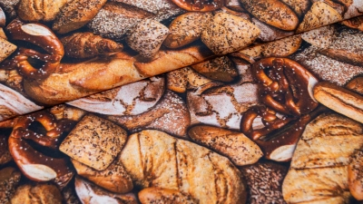Brot Bretzel Brotsorten Bäckerei Brotstoff Popeline