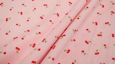 Kirschen rosa Kirschstoff Poppy I love you cherry much