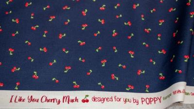 Kirschen dunkelblau Poppy I love you cherry much
