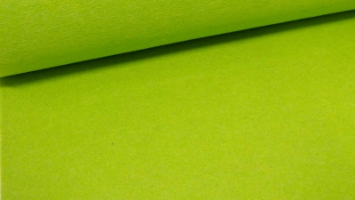 Wollfilz in Neongrün Melange 1,5 mm Bastelfilz Schurwollfilz grün