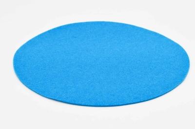 Filzset in Türkis-Blau, Platzset aus Schurwollfilz, Filzuntersetzer