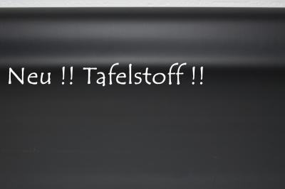 Tafelstoff schwarz - Rolls ca 45 x 100cm