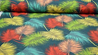 Palmenblätter Dekostoff