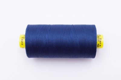 GP 0.5€/100m Gütermann Näh-Garn Allesnäher Mara 1000m No 120 Color 1823 denimblau